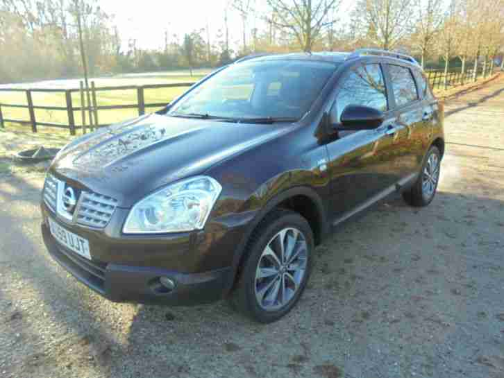 Nissan Qashqai+2. Nissan car from United Kingdom
