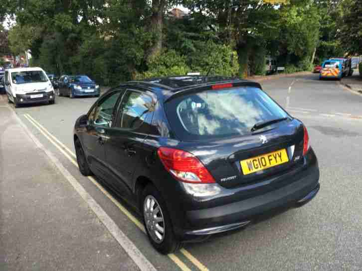2010 PEUGEOT 207 S HDI BLACK 1.4 DIESEL MANUAL **HPI CLEAR**