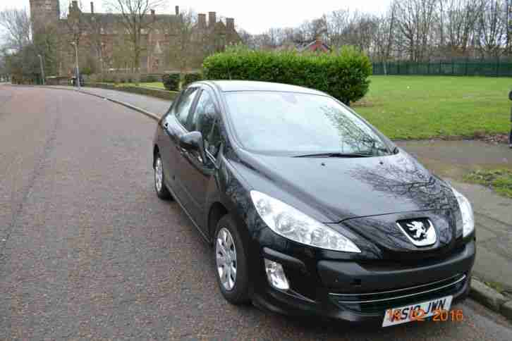 2010 PEUGEOT 308 S 1.6 VTI BLACK A/C CHEAP CAR PX SWAP