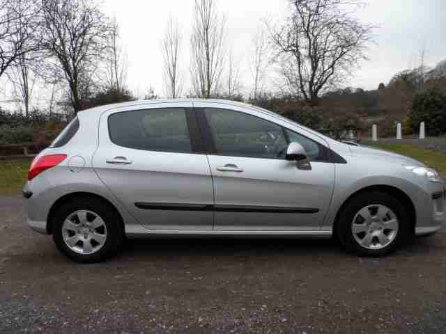 2010 PEUGEOT 308 S 5 DOOR HATHBACK ONLY 40,000 MILES FROM NEW