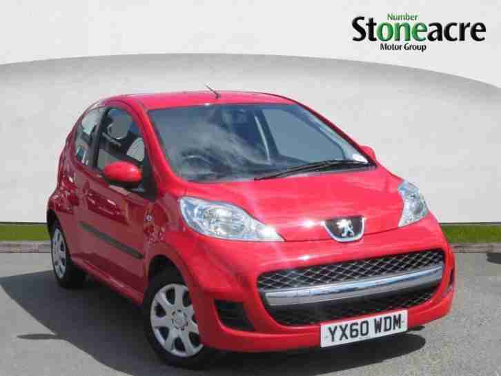 2010 Peugeot 107 1.0 12v Urban Hatchback 3dr Petrol Manual (106 g km, 67