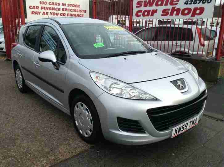 2010 Peugeot 207 SW 1.6 HDi S 5dr (a c)