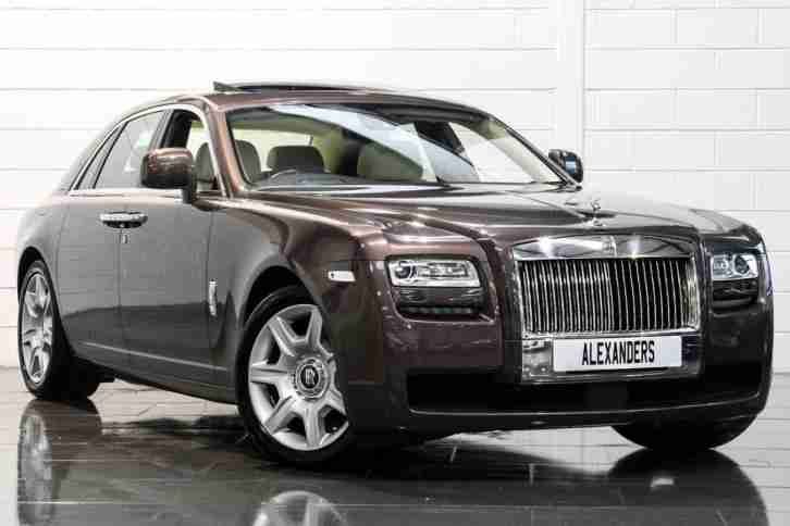 2010 Rolls Royce Ghost 6.6 V12 Auto Petrol brown Automatic