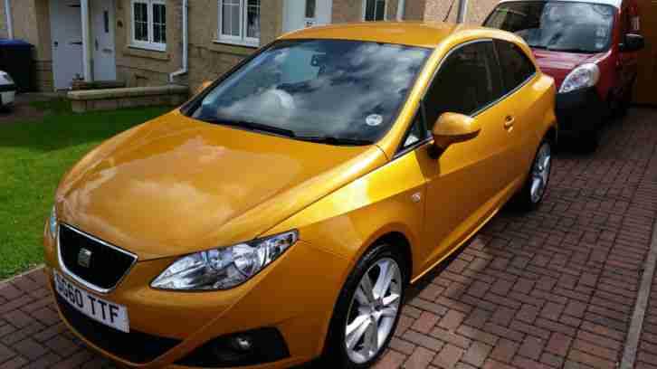 seat 2010 ibiza 1 4 sport gold car for sale. Black Bedroom Furniture Sets. Home Design Ideas