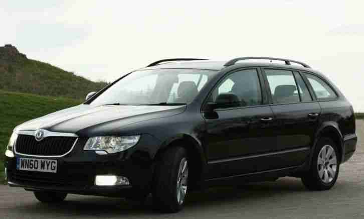 2010 SKODA SUPERB S TDI CR 140 BLACK