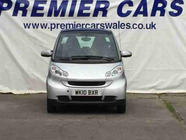 2010 SMART CAR FORTWO PASSION CDI COUPE DIESEL