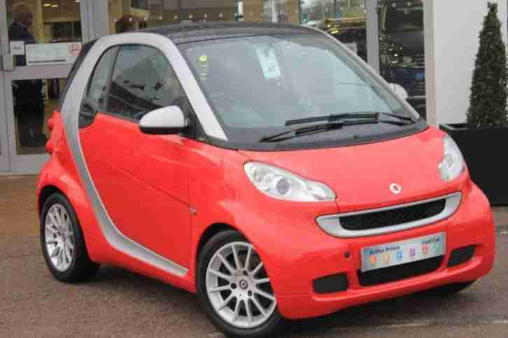 2010 FORTWO 1.0mhd Passion 2dr Softouch