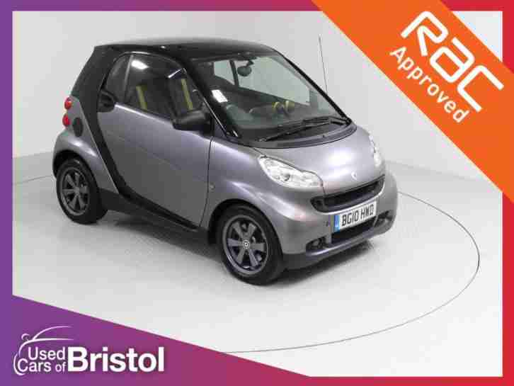 2010 FORTWO COUPE 1.0 MHD PASSION 2DR