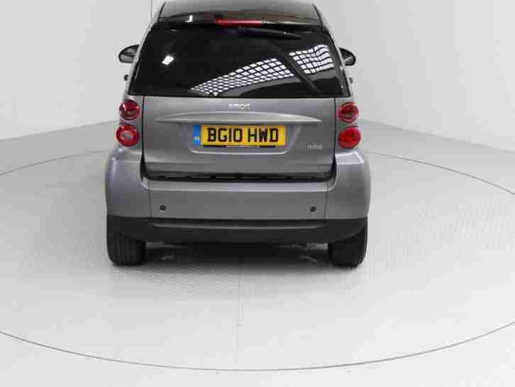 2010 SMART FORTWO COUPE 1.0 MHD PASSION 2DR COUPE PETROL