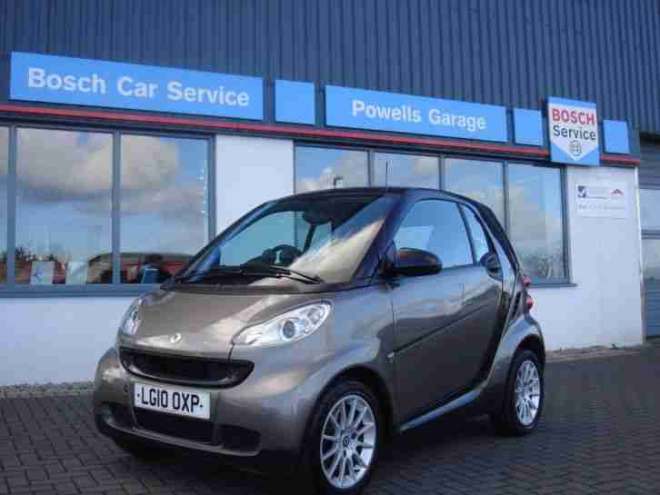 Smart 2010 Fortwo Coupe Passion Auto 84 Car For Sale