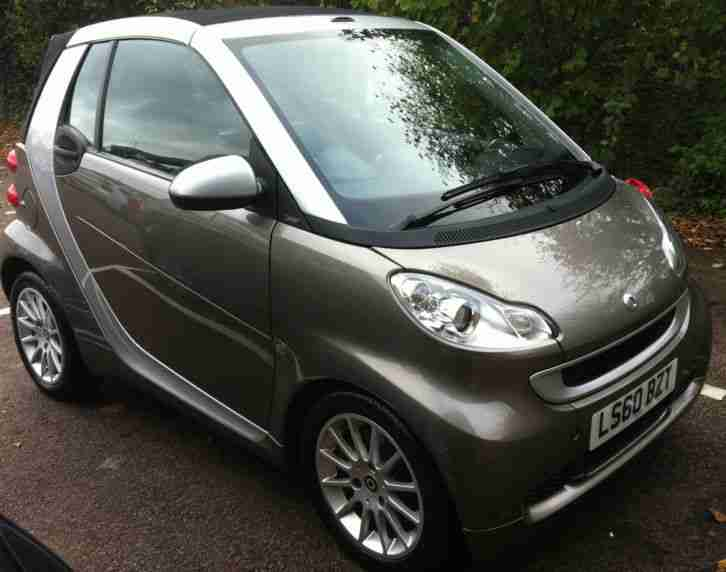 2010 SMART FORTWO PASSION CDI AUTO - fab convertable with very low running costs