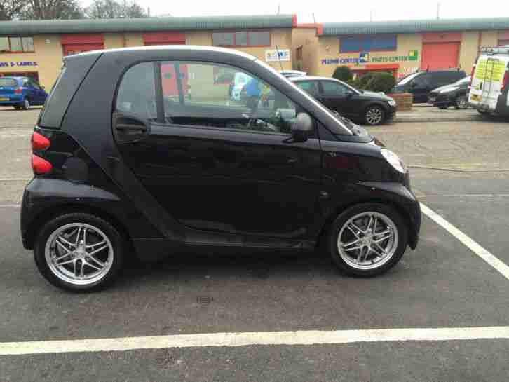 2010 SMART FORTWO PASSION MHD AUTO BLACK