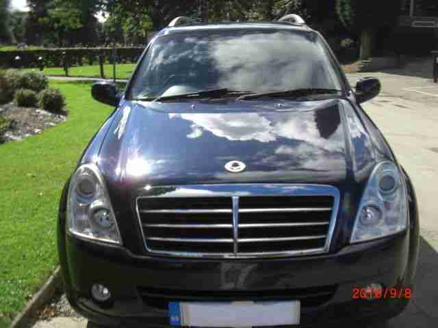 2010 SSANGYONG REXTON 270 S 5S BLUE DIESEL IN STUNNING CONDITION