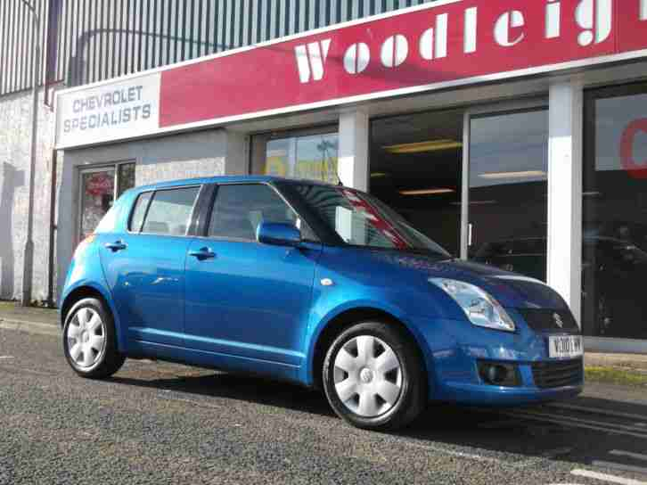 2010 SWIFT 1.3 SZ3,5 DOOR,UPTO 5 YEARS