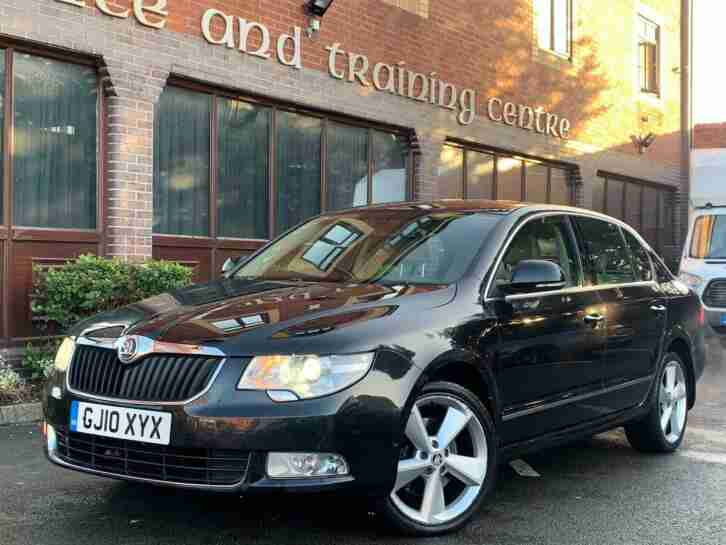 Skoda Superb. Skoda car from United Kingdom
