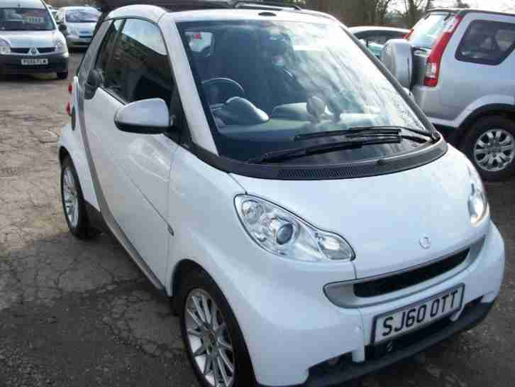 2010 Fortwo 0.8 CDI Passion Cabriolet
