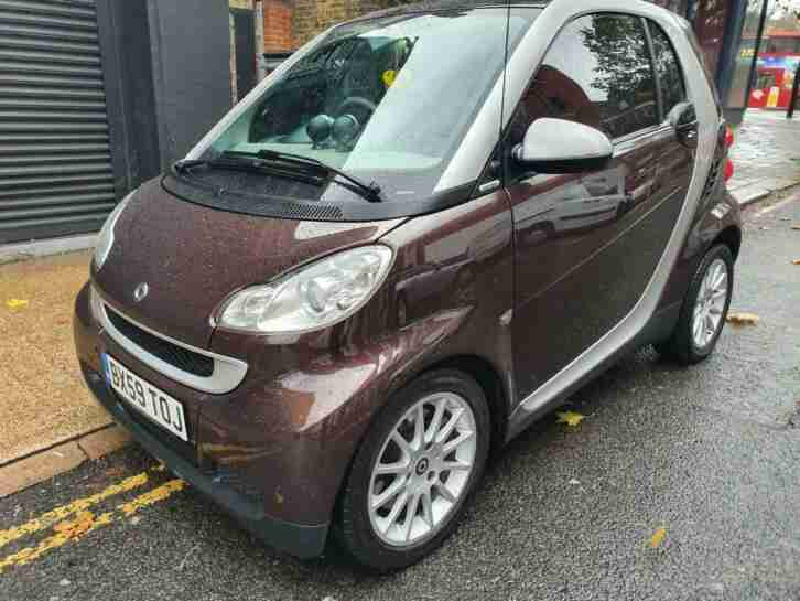 2010 Smart fortwo 1.0 High Style Limited Edition Sat Nav Heated Leather