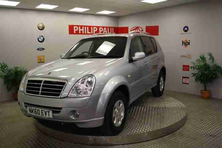 2010 Ssangyong Rexton 2.7TD RX 270 S 5dr 4WD