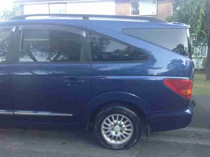 2010 Ssangyong Rodius 270 EX Auto 4WD 4x4 7 Seater MPV DIESEL