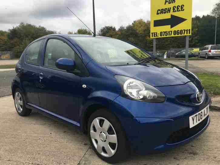 2010 AYGO 1.0 VVT I BLUE GOOD BAD
