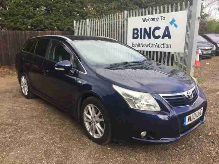 2010 Toyota Avensis 2.2 D CAT TR Estate 5dr Diesel Automatic (174 g km, 148 bhp)