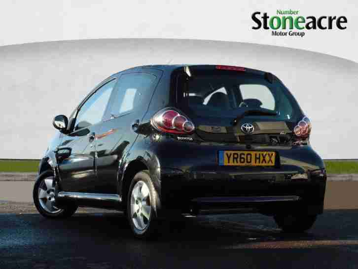Toyota 2010 Aygo 1 0 Black Hatchback 5dr Petrol Manual