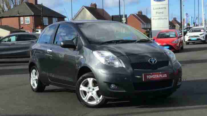 Toyota Yaris. Toyota car from United Kingdom
