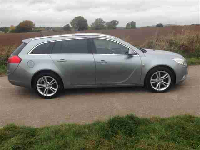 2010 VAUXHALL INSIGNIA SRI 2.0 CDTI DIESEL ESTATE IN SILVER GUARANTEED CAR FINAN