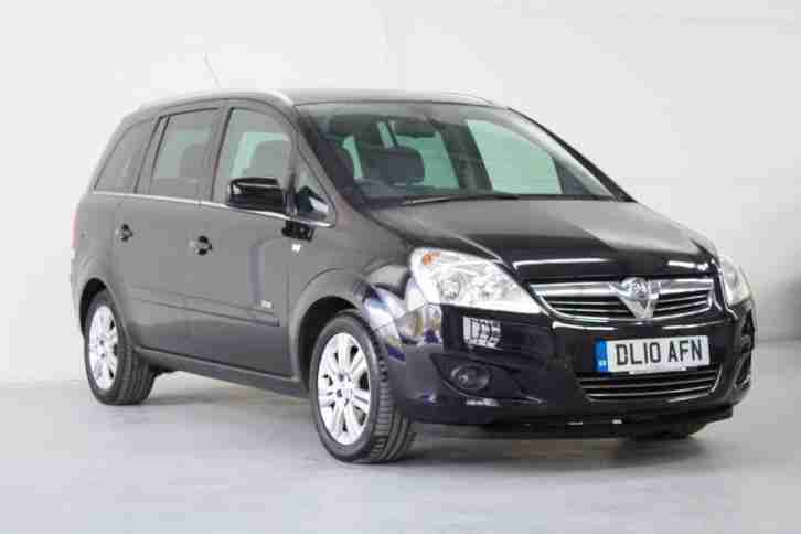 VAUXHALL ZAFIRA. Opel car from United Kingdom