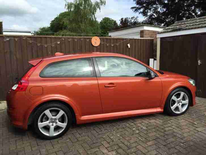 2010 VOLVO C30 R-DESIGN DRIVE D ORANGE