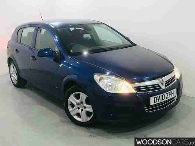 2010 Vauxhall Astra 1.6 Active 5 door petrol manual in blue 2 previous owners