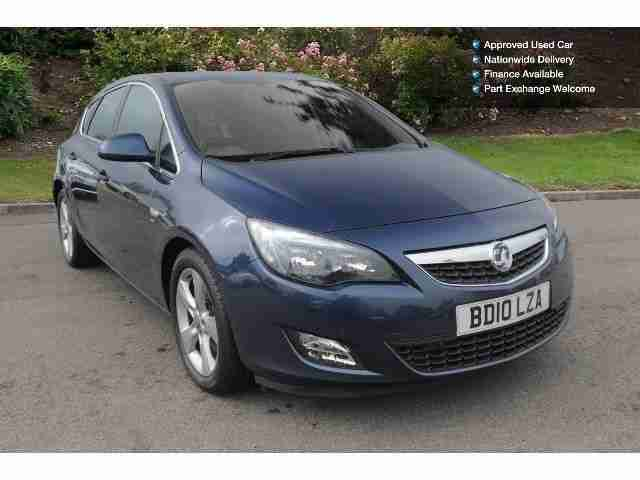 2010 vauxhall astra 1 7 cdti 16v ecoflex sri 125 5dr diesel car for sale. Black Bedroom Furniture Sets. Home Design Ideas