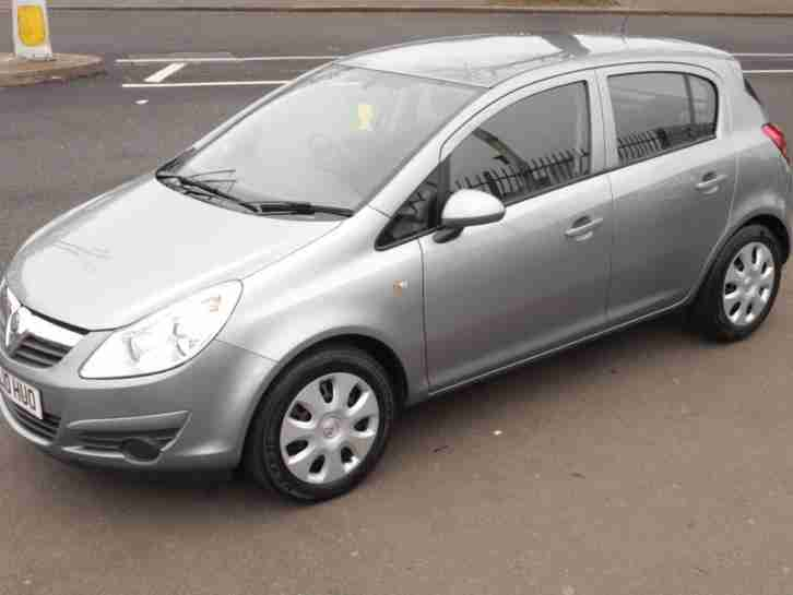 vauxhall 2010 corsa 16v 100 exclusiv 5dr ac 5 door hatchback. Black Bedroom Furniture Sets. Home Design Ideas