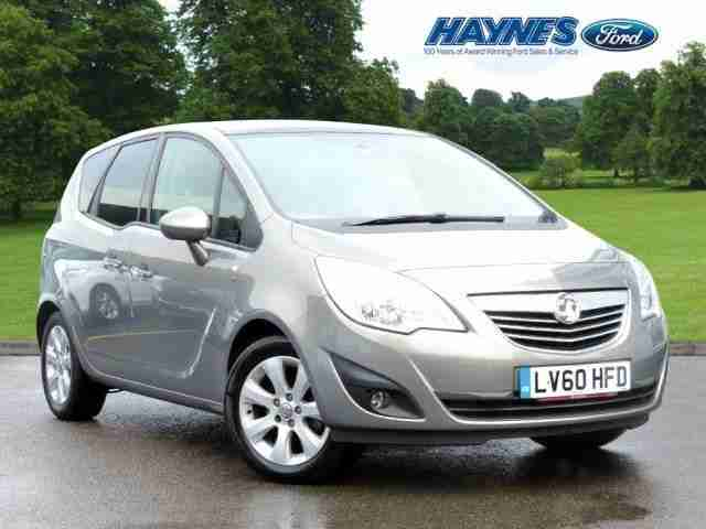 2010 Vauxhall Meriva 1.4 SE Turbo 118PS.