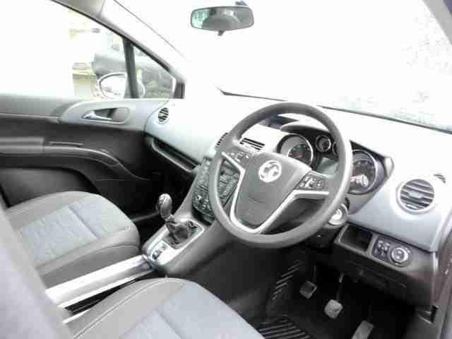 2010 Vauxhall Meriva 1.4 SE Turbo 118PS. Petrol Grey Manual