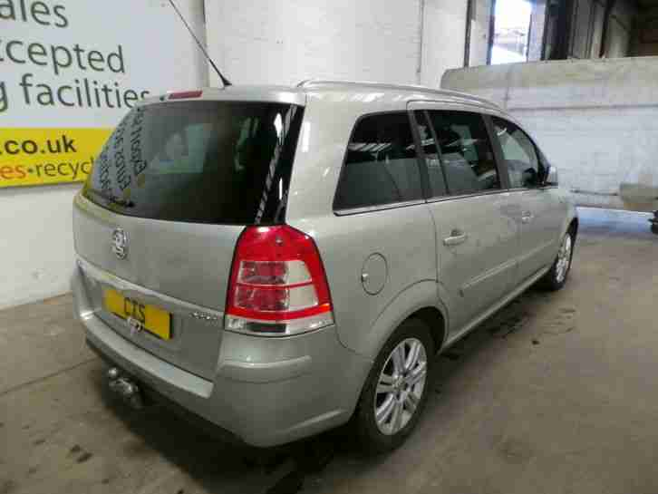 2010 vauxhall zafira elite cdti leather seat alloy wheel light tow bar. Black Bedroom Furniture Sets. Home Design Ideas