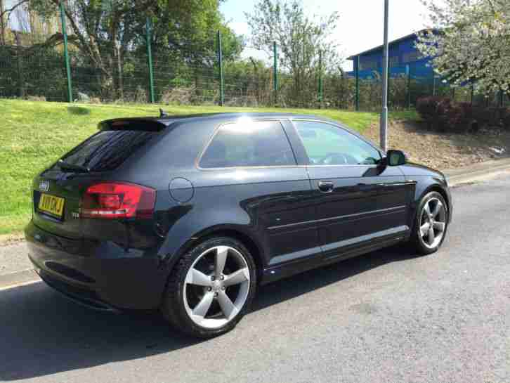Audi 2011 11 A3 S Line 2 0tdi Black Edition 3 Door Sat Nav