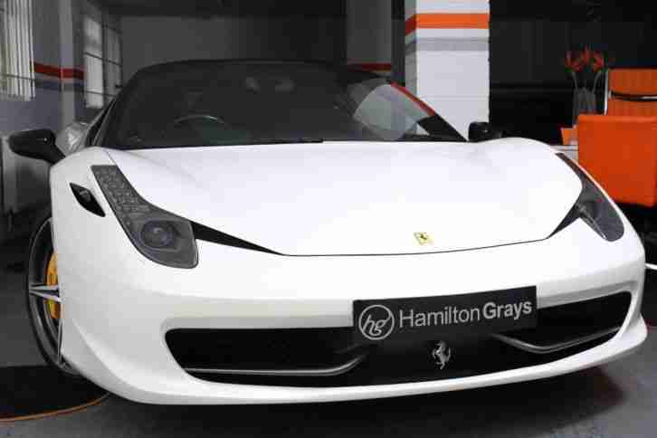 2011 11 FERRARI 458 4.5 ITALIA RHD MASSIVE SPECIFICATION + CARBON FFSH!