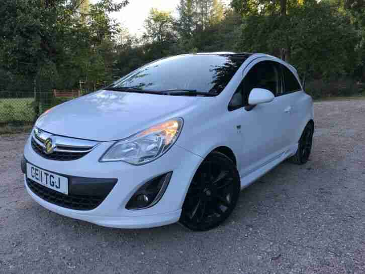 2011 11 VAUXHALL CORSA 1.216v LIMITED EDITION 3 DOOR HATCH FULL SERVICE HISTORY