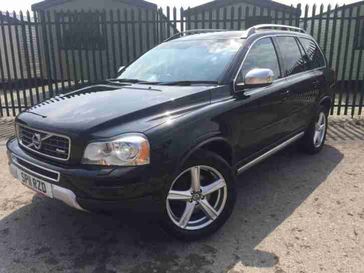 2011 11 VOLVO XC90 2.4 D5 R DESIGN AWD 5D AUTO 200 BHP 7 SEATER LEATHER PRIVACY
