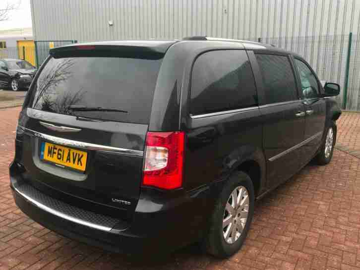 2011 (61) Chrysler Grand Voyager CRD Limited SALVAGE DAMAGED REPAIRABLE 7 SEATER