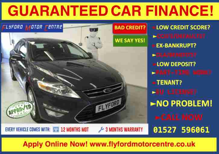 Ford 2011 61 mondeo 2 0 titanium x tdci 5d guaranteed car for Ford motor credit financing