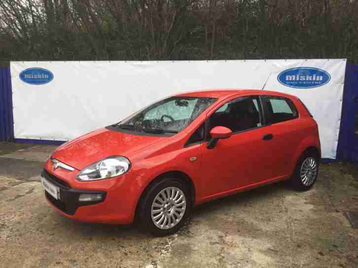 2011 61 Fiat Punto Evo 1.2 (s s) Active 3 Door
