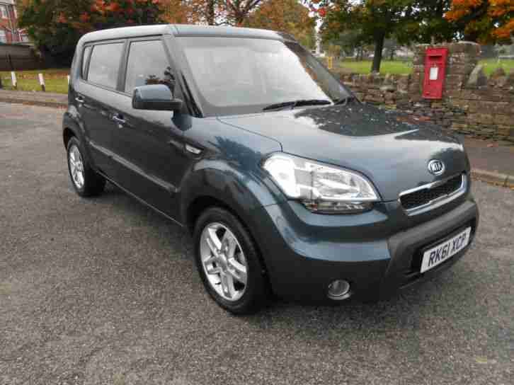 2011 61 Kia Soul 1.6CRDi 2 ONLY 7660 MILES FSH & HPI CLEAR
