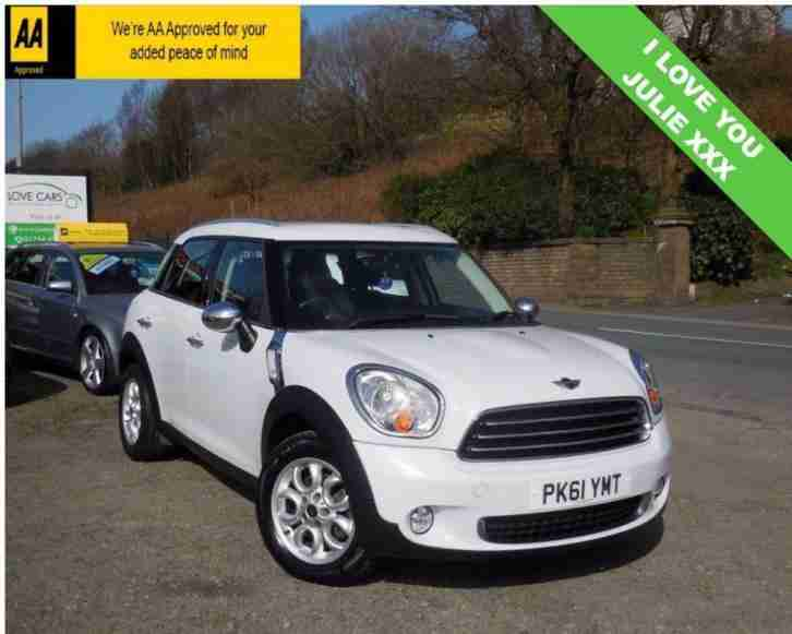 2011 61 COUNTRYMAN 1.6 ONE D 5D 90 BHP