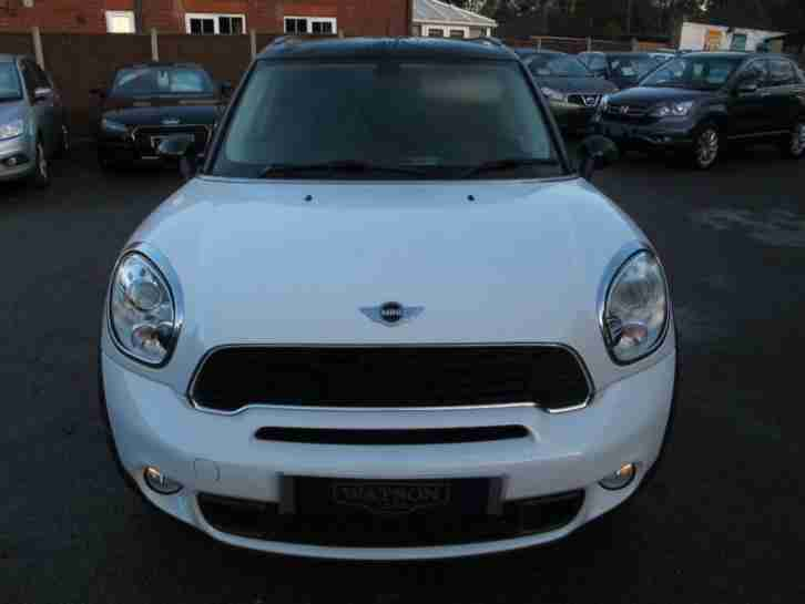 2011 61 MINI COUNTRYMAN 2.0 COOPER SD 5D DIESEL AUTO + LEATHER + PAN SUNROOF DIE