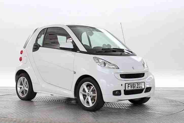 smart 2011 61 reg fortwo 1 0 pulse car for sale. Black Bedroom Furniture Sets. Home Design Ideas