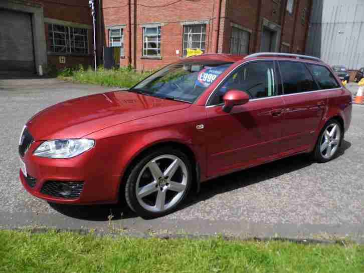 2011 (61) Seat Exeo 2.0TDI DPF ( 170ps ) ST Sport Tech 5 Door Estate