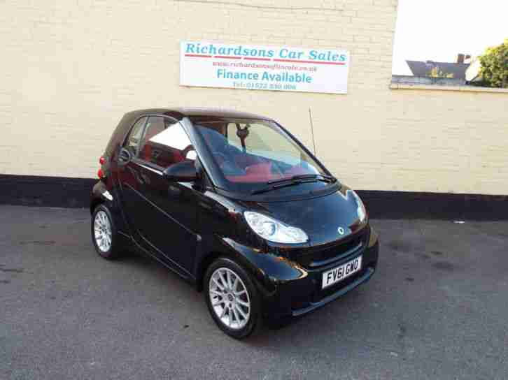 Smart 2011 61 Fortwo 0 8cdi Softouch Sat Nav Passion