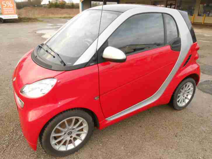 2011 '61' Smart fortwo 1.0mhd 71bhp Passion LOW MILEAGE